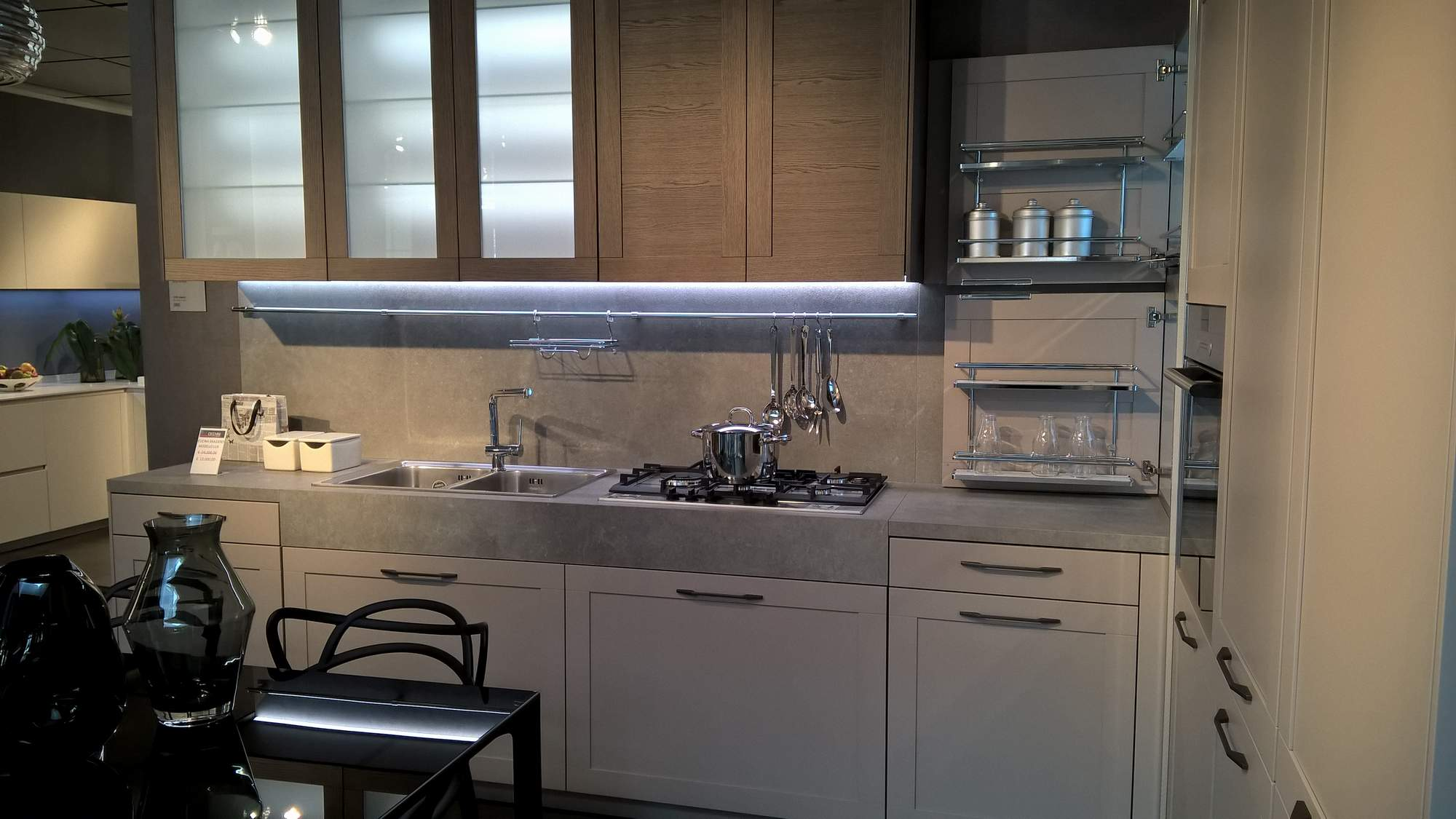 Cucina snaidero modello lux cecchini arreda - Cecchini mobili ...